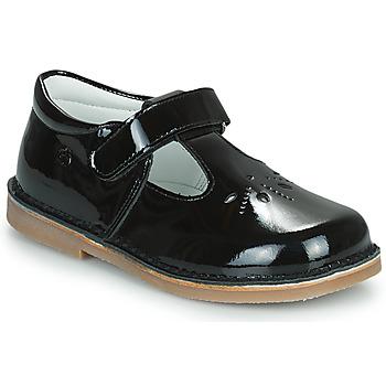 Chaussures Fille Ballerines / babies Citrouille et Compagnie OTALI Noir vernis