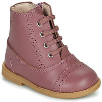 Chaussures Fille Boots Citrouille et Compagnie PUMBAE Rose