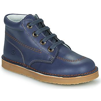 Chaussures Garçon Boots Citrouille et Compagnie PIMON Marine