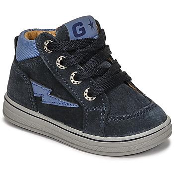 Chaussures Garçon Baskets montantes Citrouille et Compagnie PALLA Marine