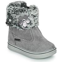 Chaussures Fille Boots Citrouille et Compagnie PALADOU Gris