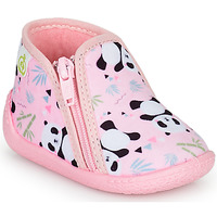 Chaussures Fille Chaussons Citrouille et Compagnie PACARONI Rose