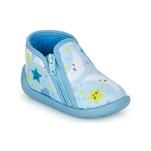 Chaussures Enfant Chaussons Citrouille et Compagnie PIFOU Ciel