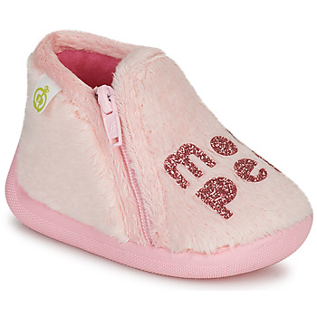 Chaussures Fille Chaussons Citrouille et Compagnie PRADS Rose