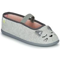 Chaussures Fille Chaussons Citrouille et Compagnie PASTALDENTE Gris/rose