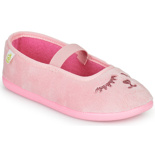 Chaussures Fille Chaussons Citrouille et Compagnie PIDDI Rose