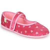 Chaussures Fille Chaussons Citrouille et Compagnie PIWOINE Fushia