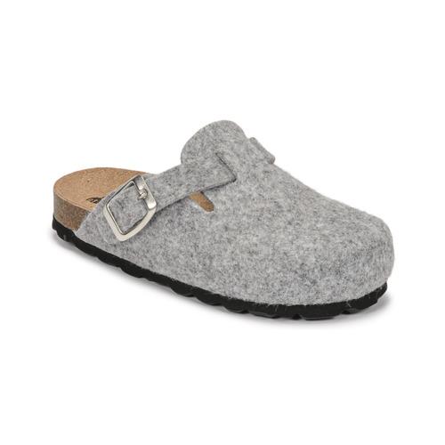 Chaussures Enfant Chaussons Citrouille et Compagnie POIWANA Gris