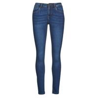 Vêtements Femme Jeans slim Noisy May NMJEN Bleu medium