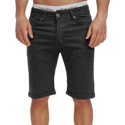 Vêtements Homme Shorts / Bermudas Monsieurmode Bermuda chino pour homme Bermuda 3422 gris foncé Gris