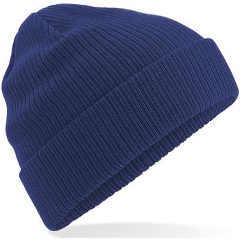 Accessoires textile Bonnets Beechfield B50 Bleu marine