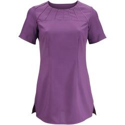 Vêtements Femme T-shirts manches courtes Alexandra Satin Améthyste