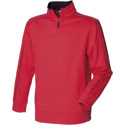 Vêtements Homme Polaires Front Row FR802 Rouge/Bleu marine