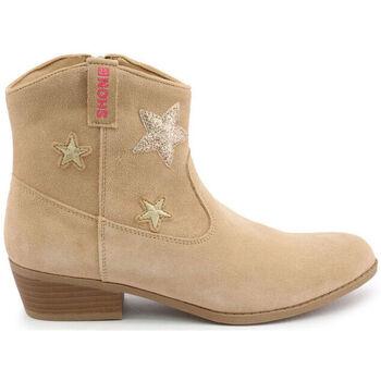 Chaussures Fille Bottines Shone - 026799 Marron
