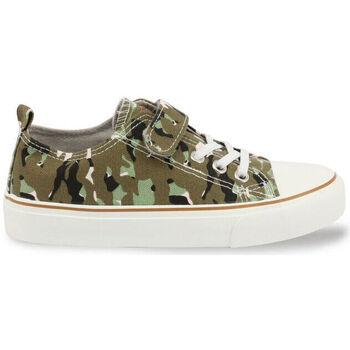 Chaussures Enfant Baskets basses Shone - 291-002 Vert