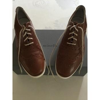 Chaussures Femme Derbies Minelli Chaussures Minelli Marron