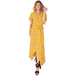 Vêtements Femme Robes longues Coton Du Monde Sakura 8 Jaune