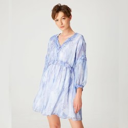 Vêtements Femme Robes courtes Smart & Joy Ail Bleu azur