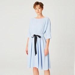 Vêtements Femme Robes courtes Smart & Joy Girofle Bleu azur