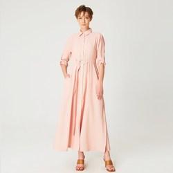 Vêtements Femme Robes longues Smart & Joy Cannelle Orange