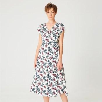 Vêtements Femme Robes longues Smart & Joy Cardamome Multicolore