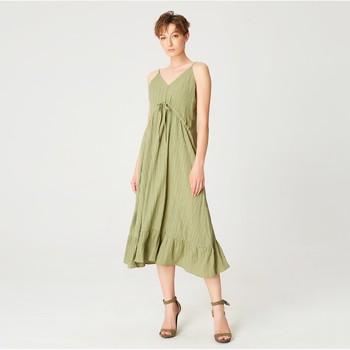 Vêtements Femme Robes longues Smart & Joy Carvi Vert kaki