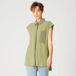 Vêtements Femme Chemises / Chemisiers Smart & Joy Aneth Vert kaki