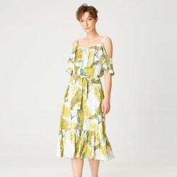 Vêtements Femme Robes courtes Smart & Joy Curcuma Multicolore