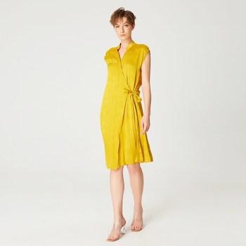 Vêtements Femme Robes courtes Smart & Joy Curry Or