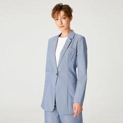 Vêtements Femme Vestes / Blazers Smart & Joy Kororima Bleu ciel
