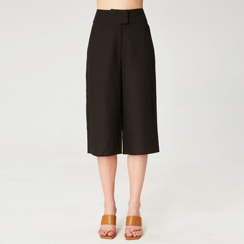Vêtements Femme Pantacourts Smart & Joy Macis Noir