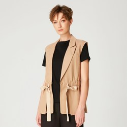 Vêtements Femme Vestes Smart & Joy Mahaleb Beige