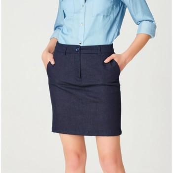 Vêtements Femme Jupes Smart & Joy Ras Bleu marine