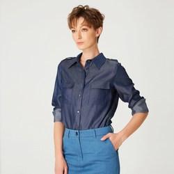 Vêtements Femme Chemises / Chemisiers Smart & Joy Hanout Bleu ardoise