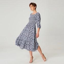 Vêtements Femme Robes longues Smart & Joy Banane Bleu