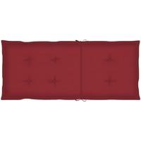 Maison & Déco Coussins Vidaxl Coussin de chaise de jardin 120 x 50 x 4 cm Rouge