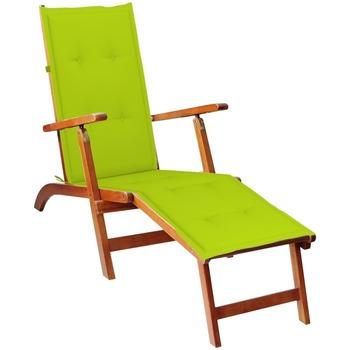 Maison & Déco Coussins Vidaxl Coussin de chaise de terrasse Vert