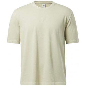 Vêtements Homme T-shirts manches courtes Reebok Sport Tee-shirt Beige
