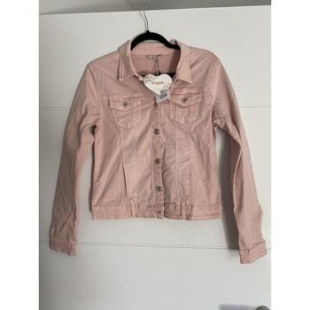 Vêtements Femme Vestes en jean Onado Veste rose pale Rose