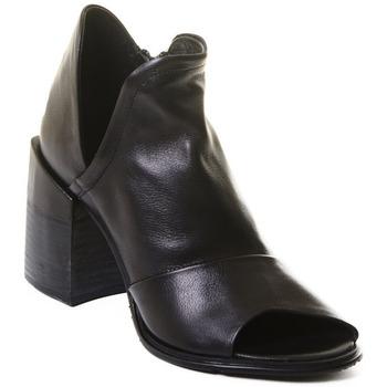 Chaussures Femme Bottines Rebecca White T0504 Noir