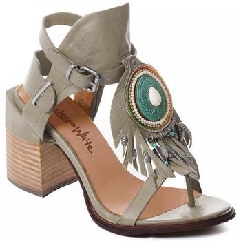 Chaussures Femme Escarpins Rebecca White T0509 Gris