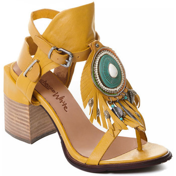 Chaussures Femme Escarpins Rebecca White T0509 Jaune