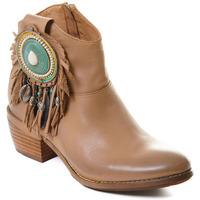 Chaussures Femme Bottines Rebecca White T0605 Beige
