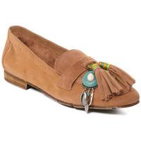 Chaussures Femme Mocassins Rebecca White T3506 Beige
