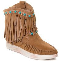Chaussures Femme Bottines Rebecca White T6016 Marron