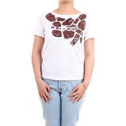 Vêtements Femme T-shirts manches courtes Pennyblack 29710121 T-Shirt/Polo femme Blanc