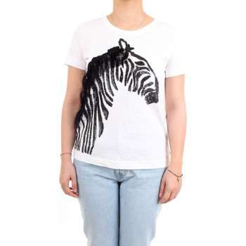 Vêtements Femme T-shirts manches courtes Pennyblack 39710821 T-Shirt/Polo femme Blanc