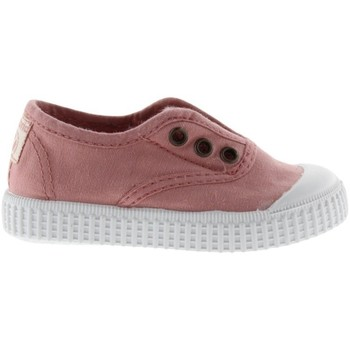 Chaussures Fille Tennis Victoria Baskets fille  1915 anglaise toile lavée rose foncé