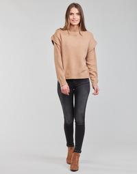 Vêtements Femme Jeans skinny Replay LUZIEN Noir