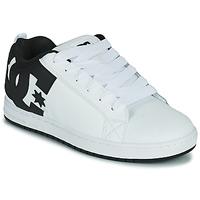 Chaussures Homme Chaussures de Skate DC Shoes COURT GRAFFIK Blanc / Noir